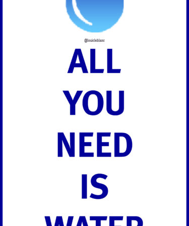 All you need is water